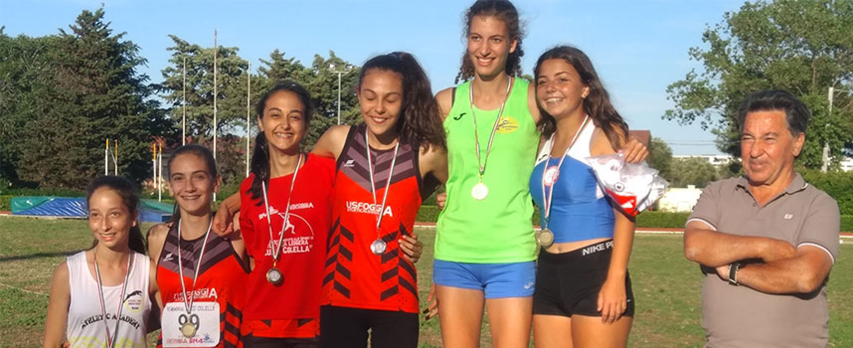 Sara Di Leo (Nuovatletica Bisceglie) campionessa regionale di pentathlon