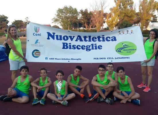 Nuovatletica Bisceglie in gara nel weekend tra Rimini e Bari