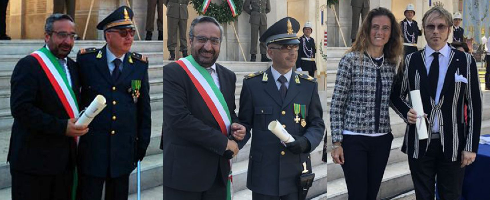 Tre biscegliesi insigniti dell'onoreficenza di Cavaliere al Merito della Repubblica