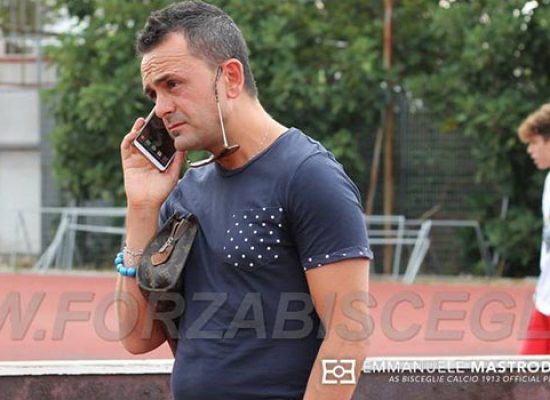 Bisceglie calcio: oggi stage Under 16, Vito Pellegrini lascia il club