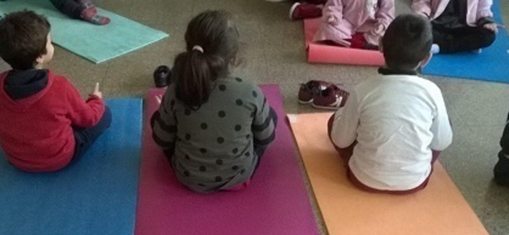 """Terminato il progetto di yoga per gli alunni della scuola dell'infanzia """"Angela Di Bari"""""""