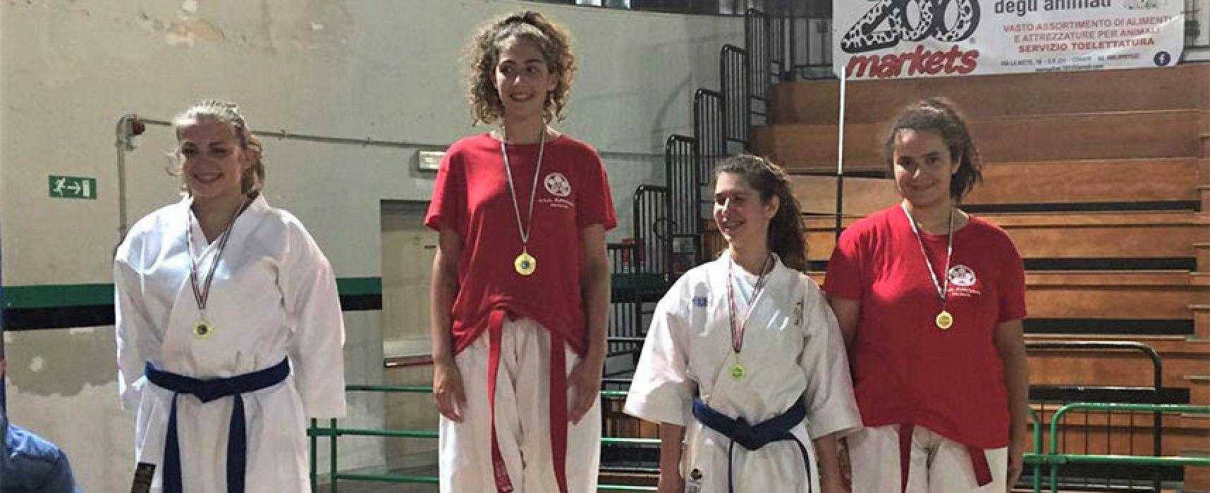 """Karate: il trofeo """"Città di Corato"""" chiude la stagione positiva dello Zanshin"""