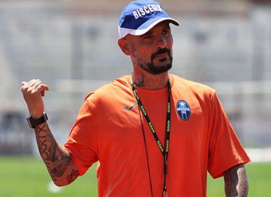 Bisceglie calcio, primo giorno di lavoro per il neo tecnico Ciro Ginestra