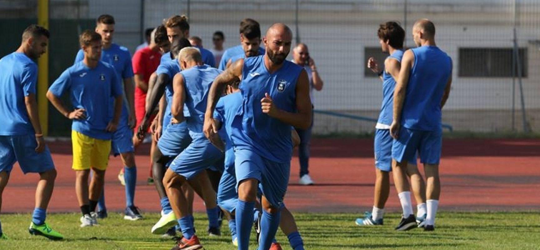 Bisceglie Calcio, primo allenamento stagionale al Gustavo Ventura