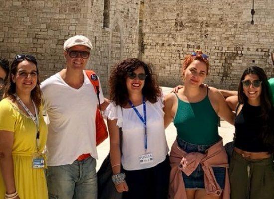 La star argentina Mike Amigorena a Bisceglie per riscoprire le proprie radici / FOTO