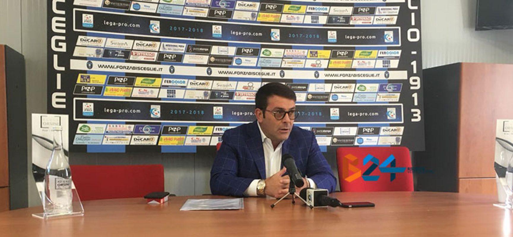 """Bisceglie infuriato per modifiche regolamento, Canonico: """"Atto lesivo su chi investe nel calcio"""""""