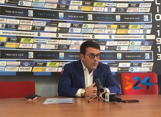 """Bisceglie Calcio, Canonico: """"Esito trattative negativo, avanti con giovani ed in autogestione"""""""