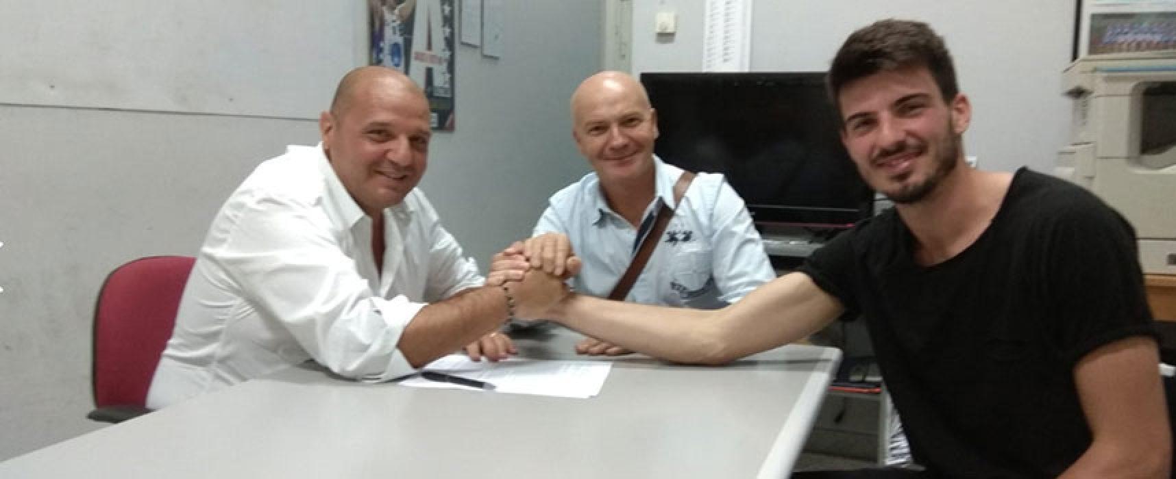 """Lions Bisceglie: torna Chiriatti, """"Lottare per i primi posti in un campionato competitivo"""""""