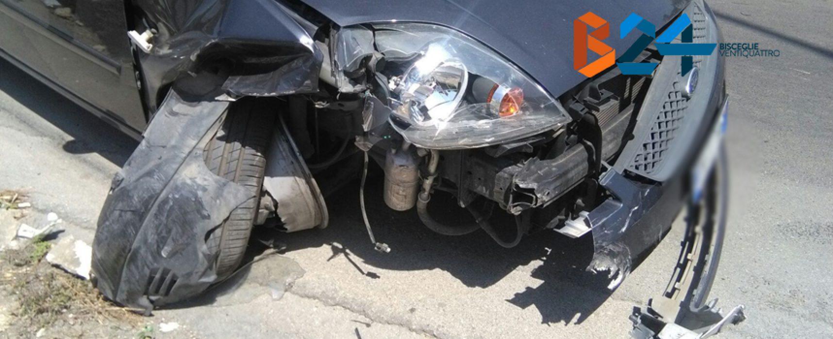 Scontro fra due auto in via Imbriani, nessun ferito
