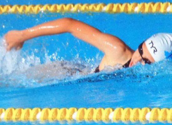 Nuoto: Lucrezia Napoletano protagonista al Campionato Regionale Assoluto estivo