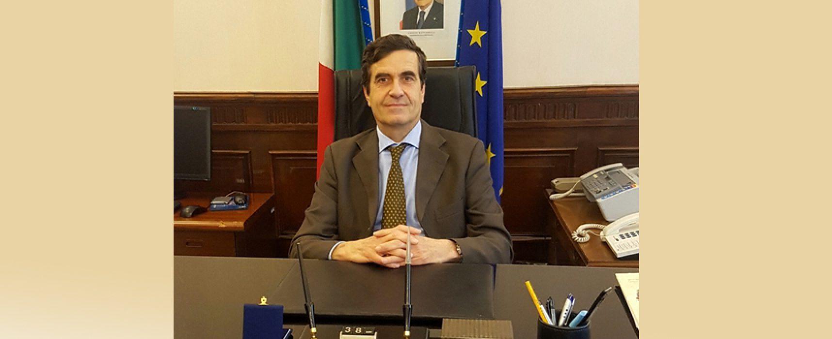 Cambia il prefetto della Bat, arriva Emilio Dario Sensi