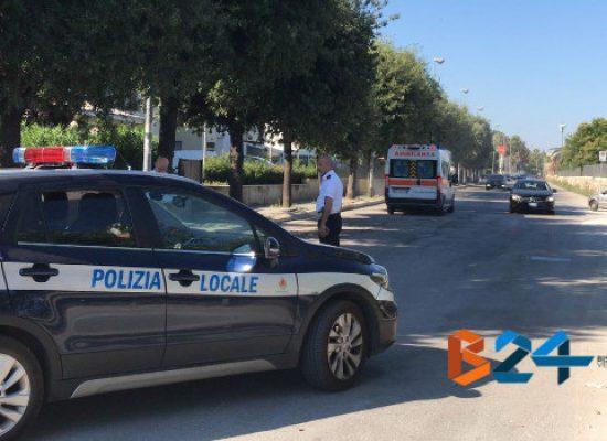 Incidente in via Vecchia Corato, ciclista al pronto soccorso
