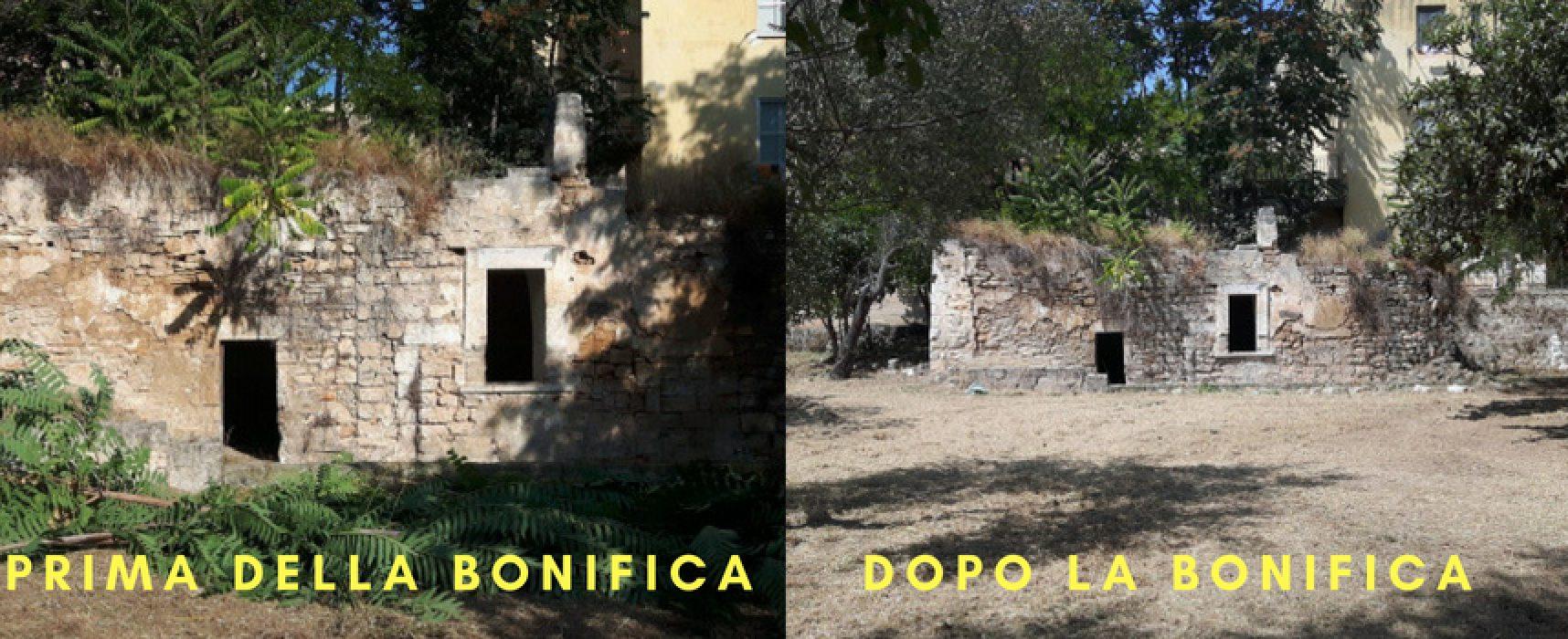 Orto Schinosa bonificato dal Comune dopo la segnalazione di Pro Natura