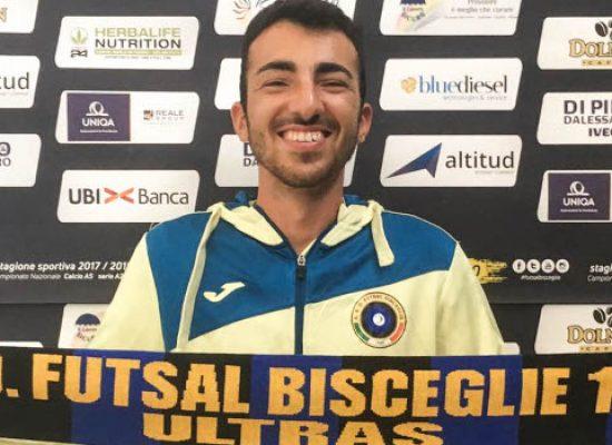 Futsal Bisceglie, Danilo Pappalettera entra nello staff tecnico dell'Under 19
