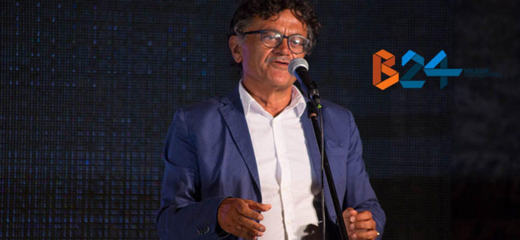 """Marcello Veneziani alle Vecchie Segherie con il nuovo libro """"Nostalgia degli Dei"""""""