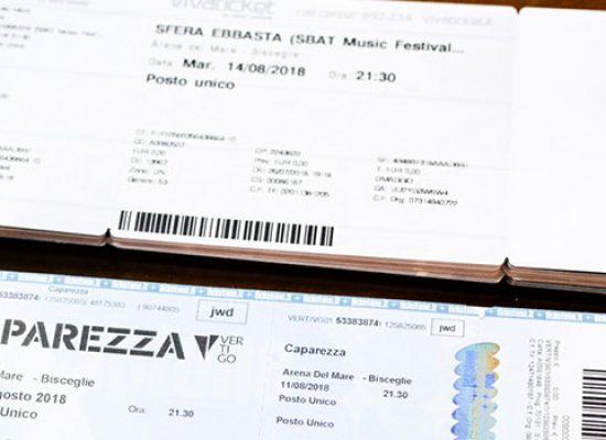 Avis Bisceglie: consegnati biglietti concerto Caparezza, da assegnare quelli per Sfera Ebbasta