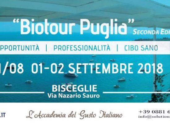"""Il trionfo del biologico pugliese a Bisceglie: ecco Biotour Puglia, """"Il villaggio del gusto"""""""