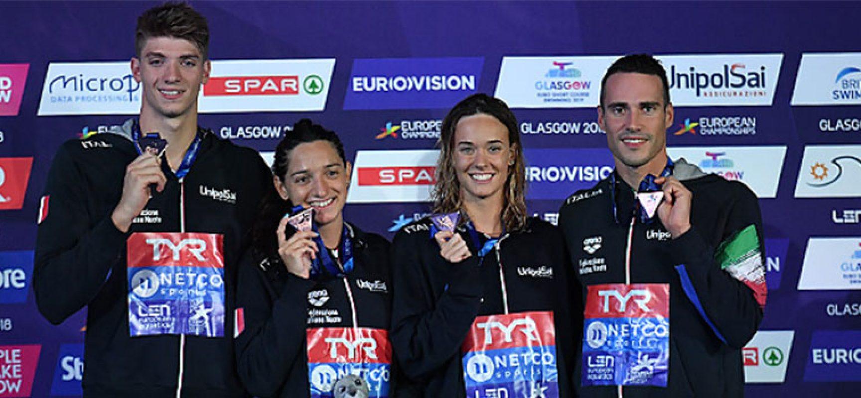 Medaglia e record italiano con la staffetta mixed mista per Elena Di Liddo