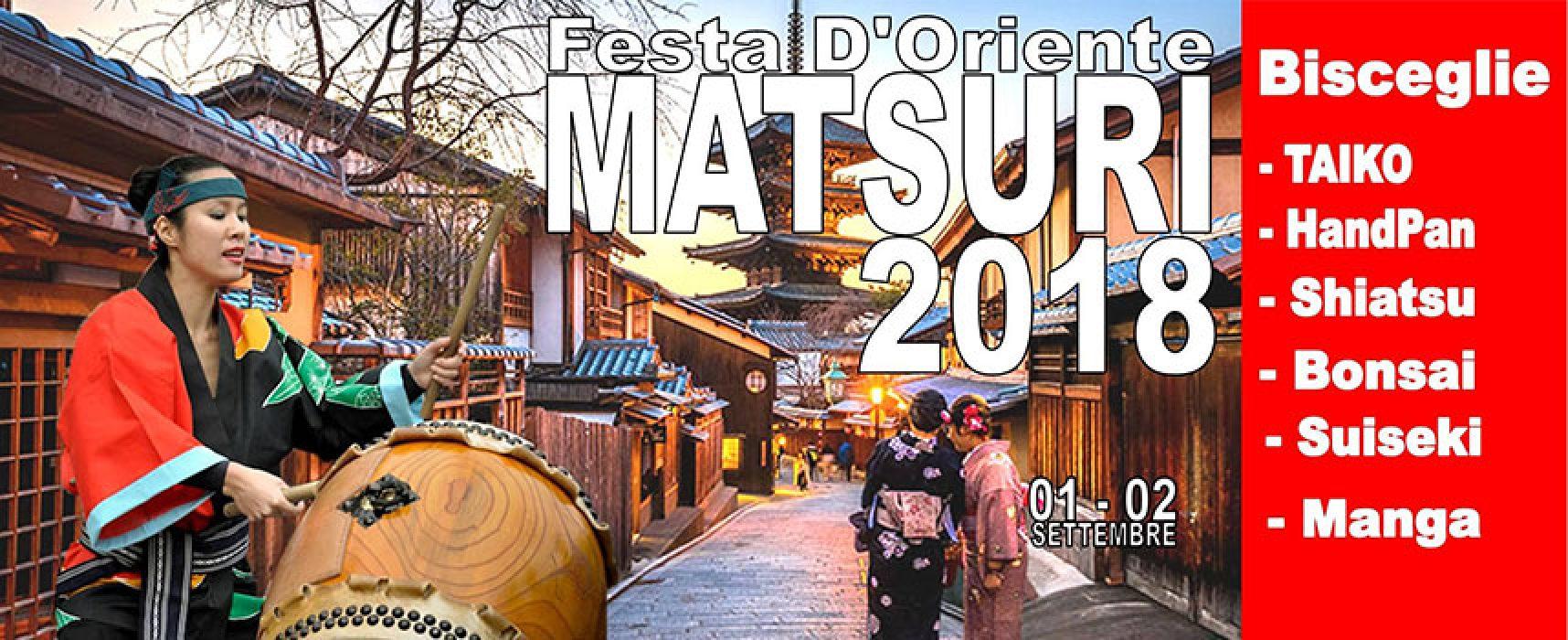 Matsuri Festival d'Oriente, la cultura nipponica approda in tre serate a Bisceglie