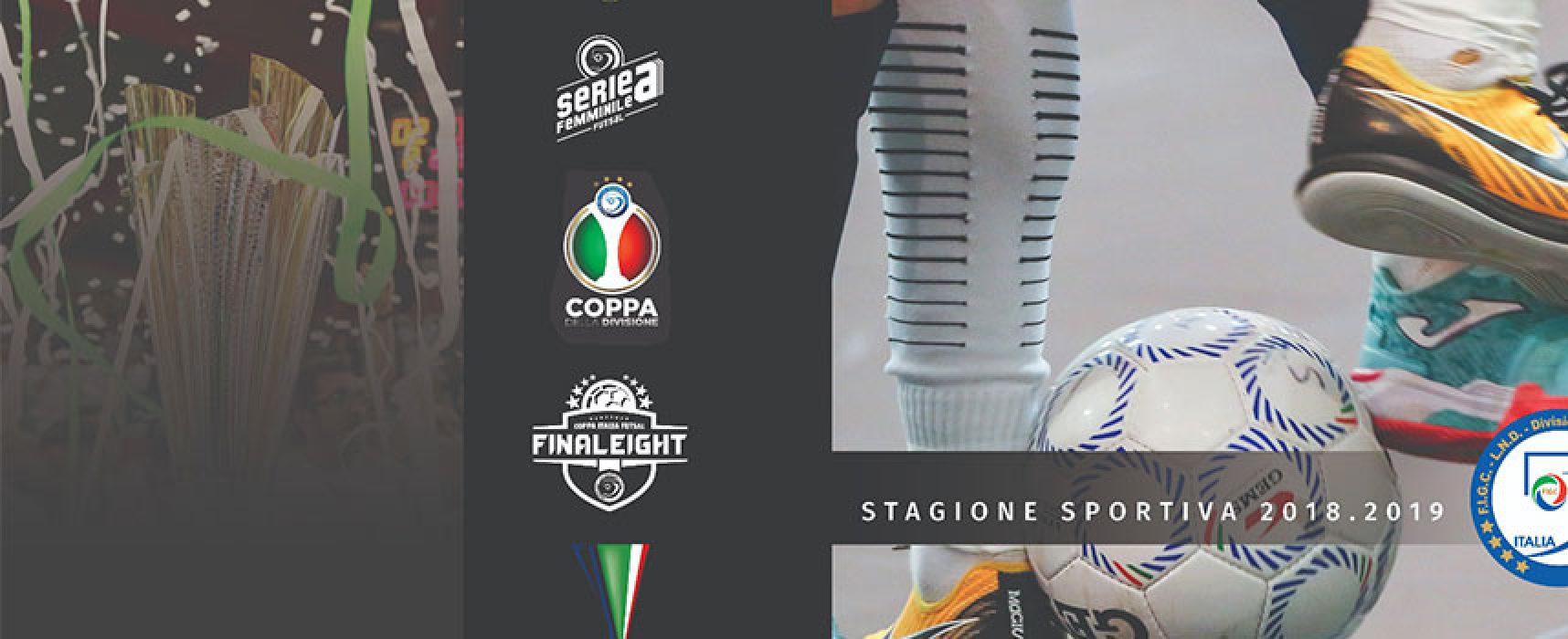 Calcio a 5: le avversarie di Futsal Bisceglie e Bisceglie Femminile, Diaz in serie B!