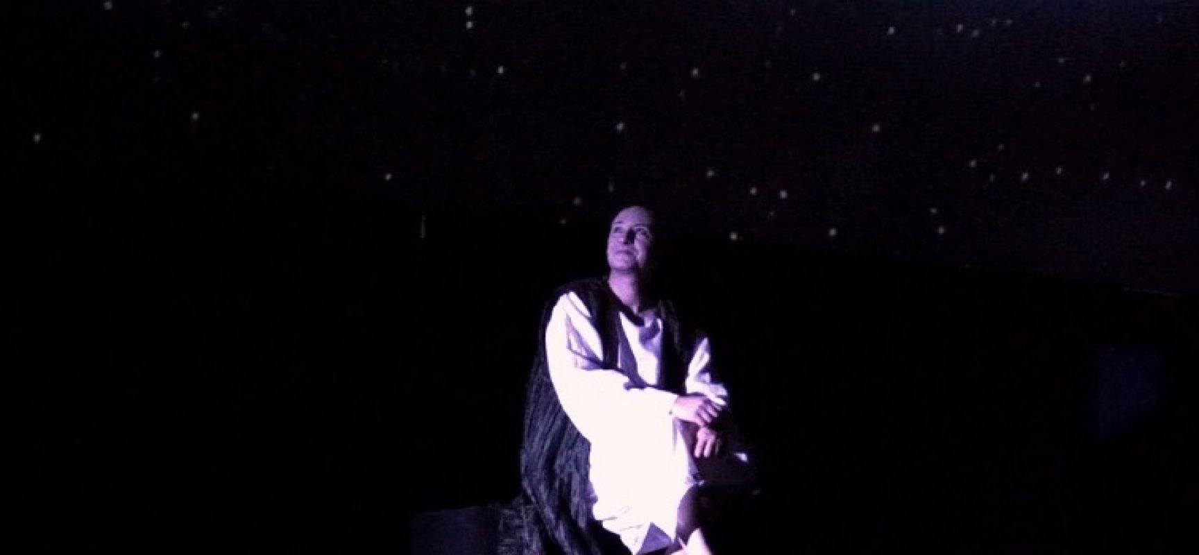 Gianluigi Belsito in scena a Castel del Monte per la notte di San Lorenzo