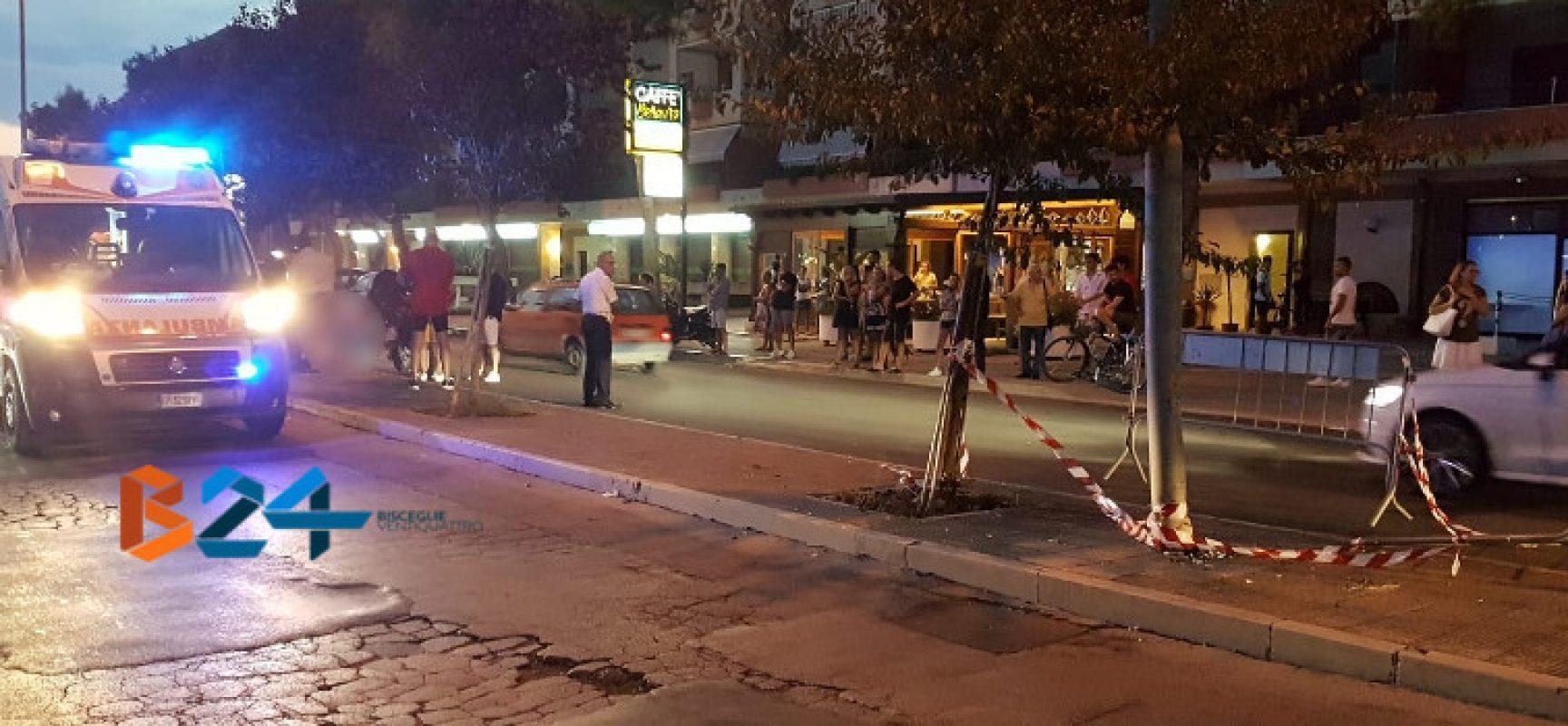 Secondo incidente nello stesso punto di via San Martino nell'arco di poche ore