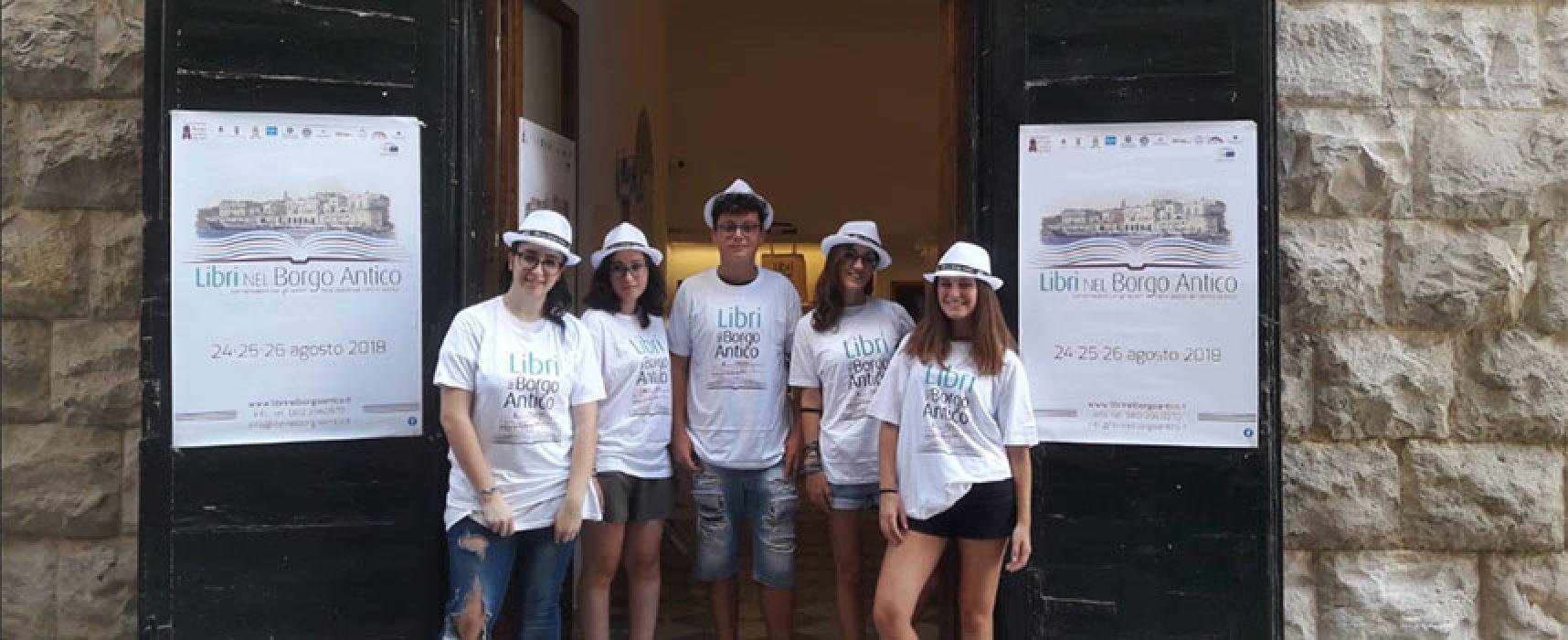 """""""Libri nel Borgo Antico"""", al via i preparativi per l'undicesima edizione / VOLONTARI e DATE"""