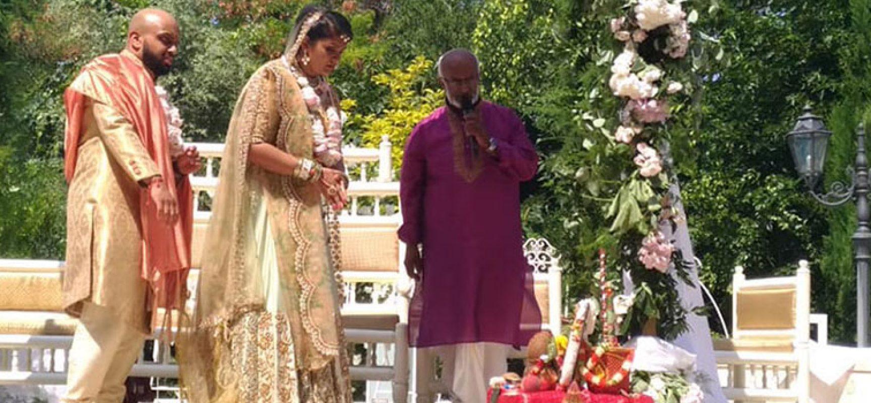 Colori, tradizioni e riti. Bisceglie location di un matrimonio indiano