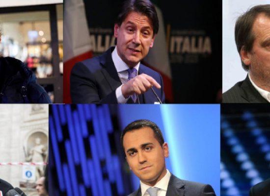 Il premier Conte, i Ministri Di Maio e Centinaio, Gigi D'Alessio e Pinuccio ospiti di DigithON