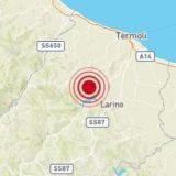 Nuova scossa di terremoto in Molise avvertita anche a Bisceglie