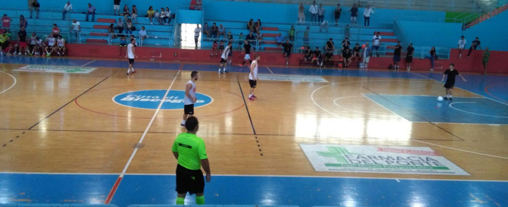 La Diaz supera un Futsal Bisceglie incerottato nel derby amichevole