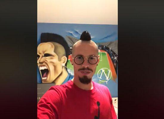 Kopunek all'Unione Calcio, arriva l'in bocca al lupo di Hamsik a compagno e club / VIDEO