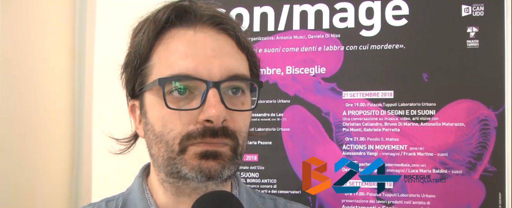 Al via Sonimage, rassegna di suoni ed immagini: l'intervista al direttore artistico / VIDEO