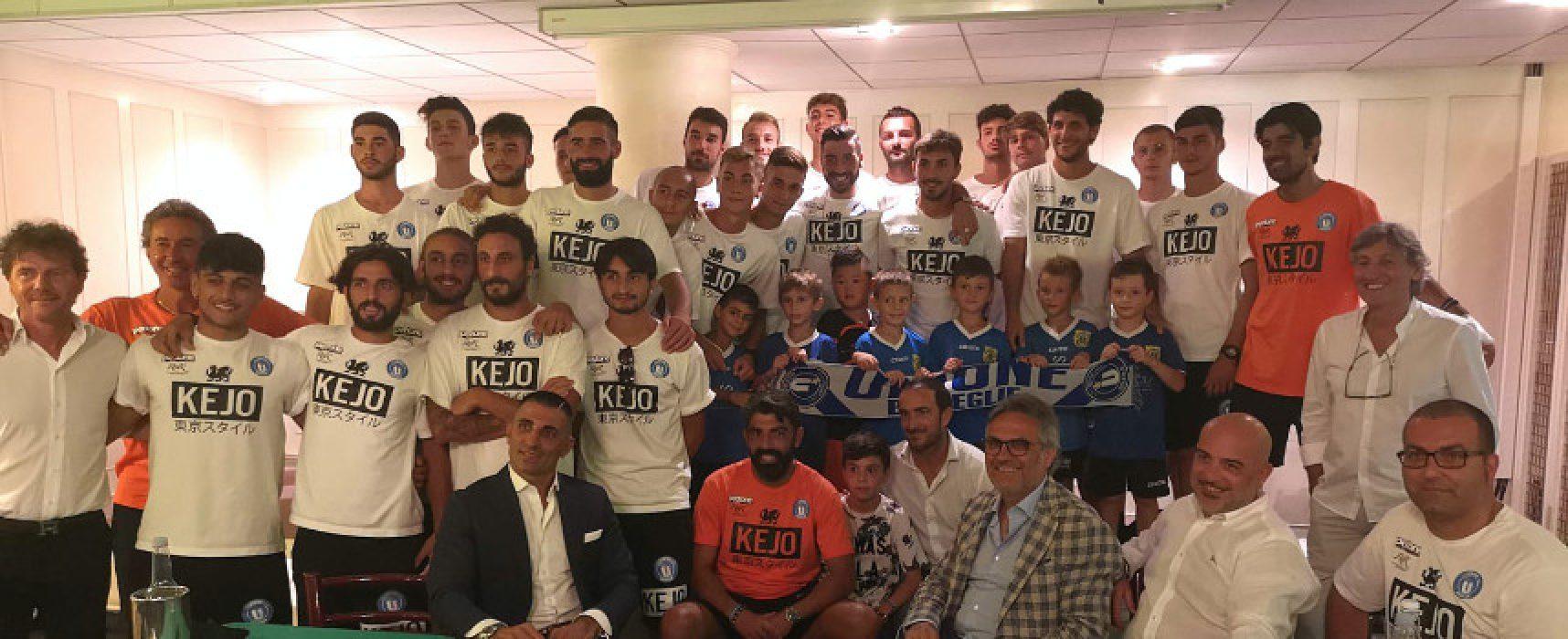 Unione Calcio, l'amichevole con il Bari ha preceduto la conferenza stampa di presentazione