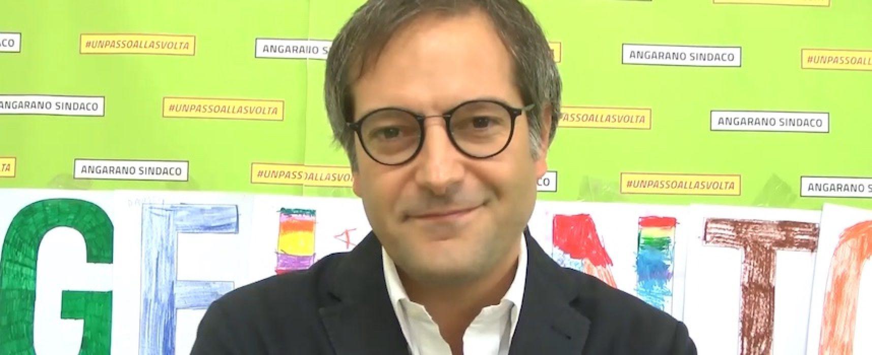 Il sindaco Angelantonio Angarano augura buon anno scolastico a studenti ed insegnanti / VIDEO