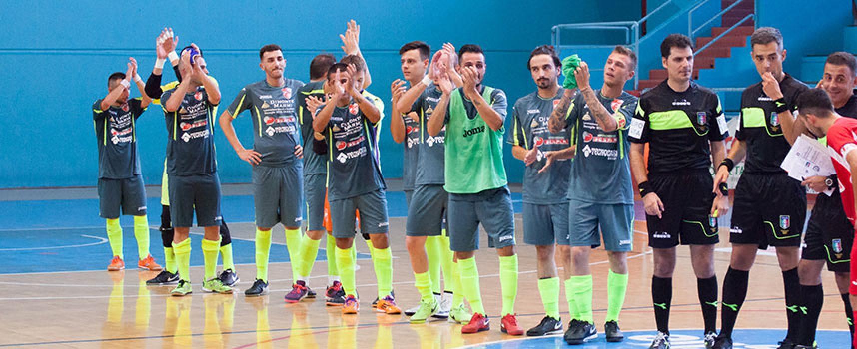 Diaz sconfitta in Coppa Italia dal Futsal Altamura