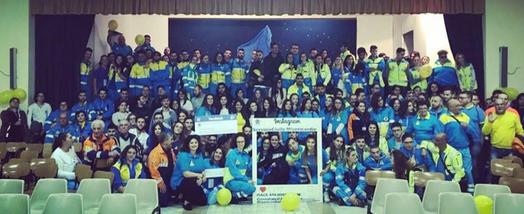 La Misericordia di Andria seleziona 24 volontari per il Servizio Civile Nazionale
