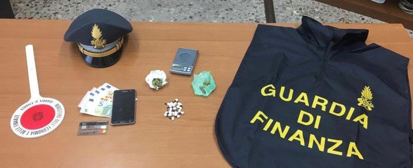 Spaccio sostanze stupefacenti, Guardia di Finanza arresta un biscegliese