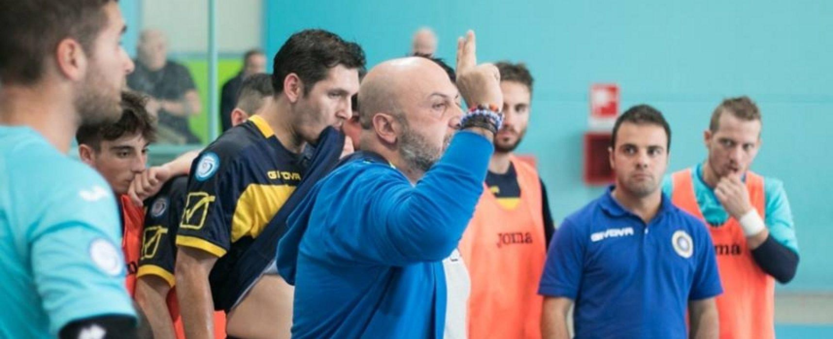 """Futsal Bisceglie, parla mister Capursi: """"Continuiamo a lavorare per la salvezza"""""""