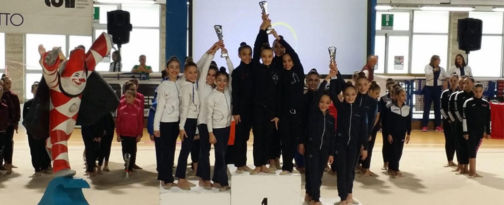 Ritmica, la biscegliese Abbadessa conquista il titolo Interregionale di squadra con l'Iris