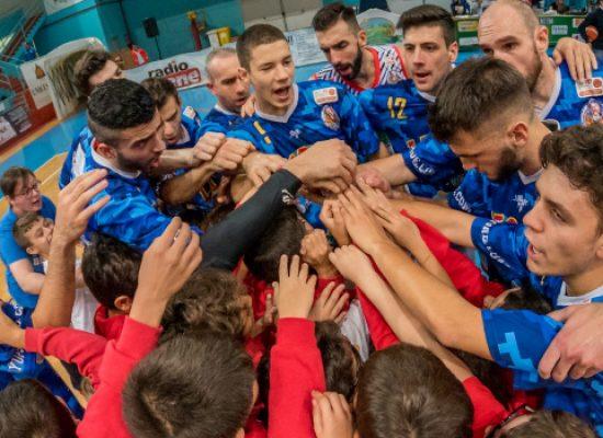 La Di Pinto Panifici supera Civitanova e si issa al comando della classifica