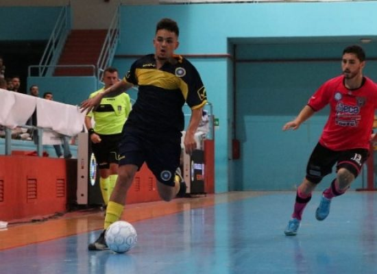 Al Futsal Bisceglie non basta il cuore, il Sammichele vince 7-4