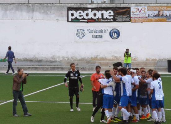 Unione Calcio, vittoria salutare contro il Mesagne