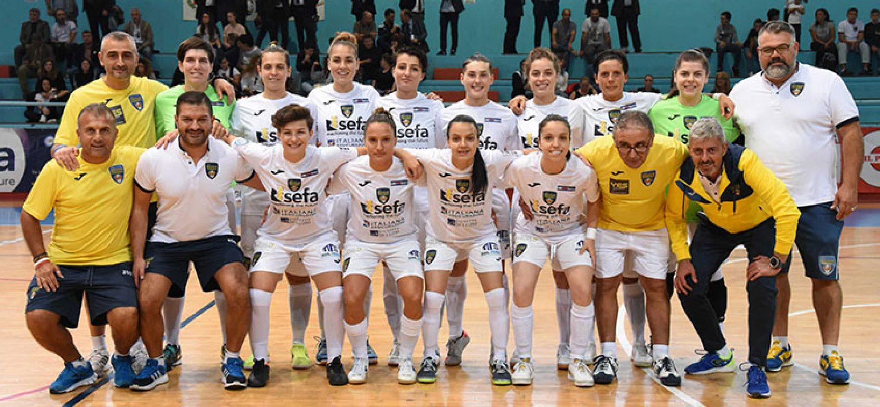 Bisceglie Femminile sconfitto nel derby pugliese con il Real Statte