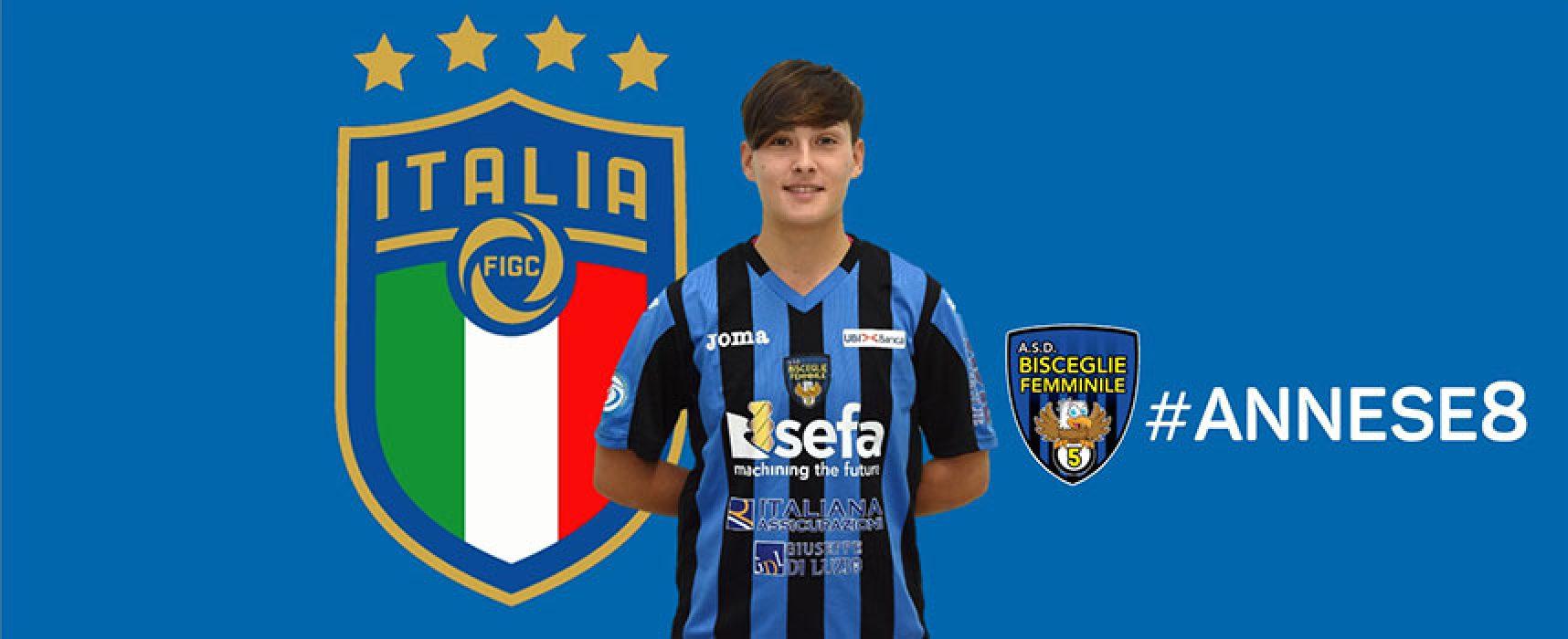 Annese (Bisceglie Femminile) convocata dalla Nazionale Italiana Femminile di Futsal