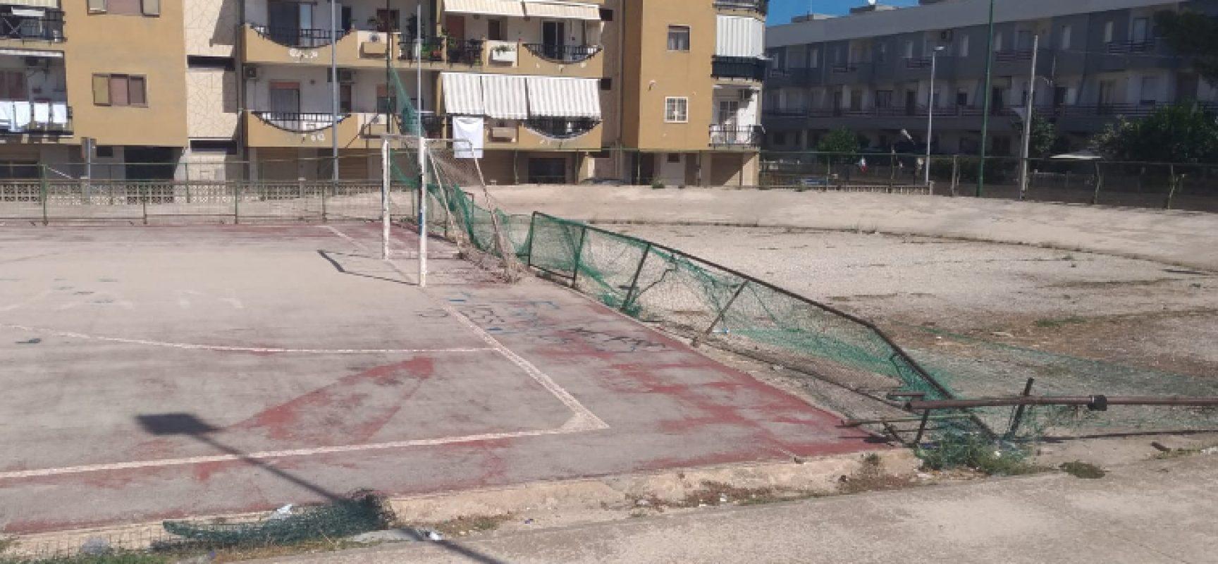 """M5s Bisceglie: """"Comune metta in sicurezza campo di Salnitro e provveda alla riqualificazione"""""""