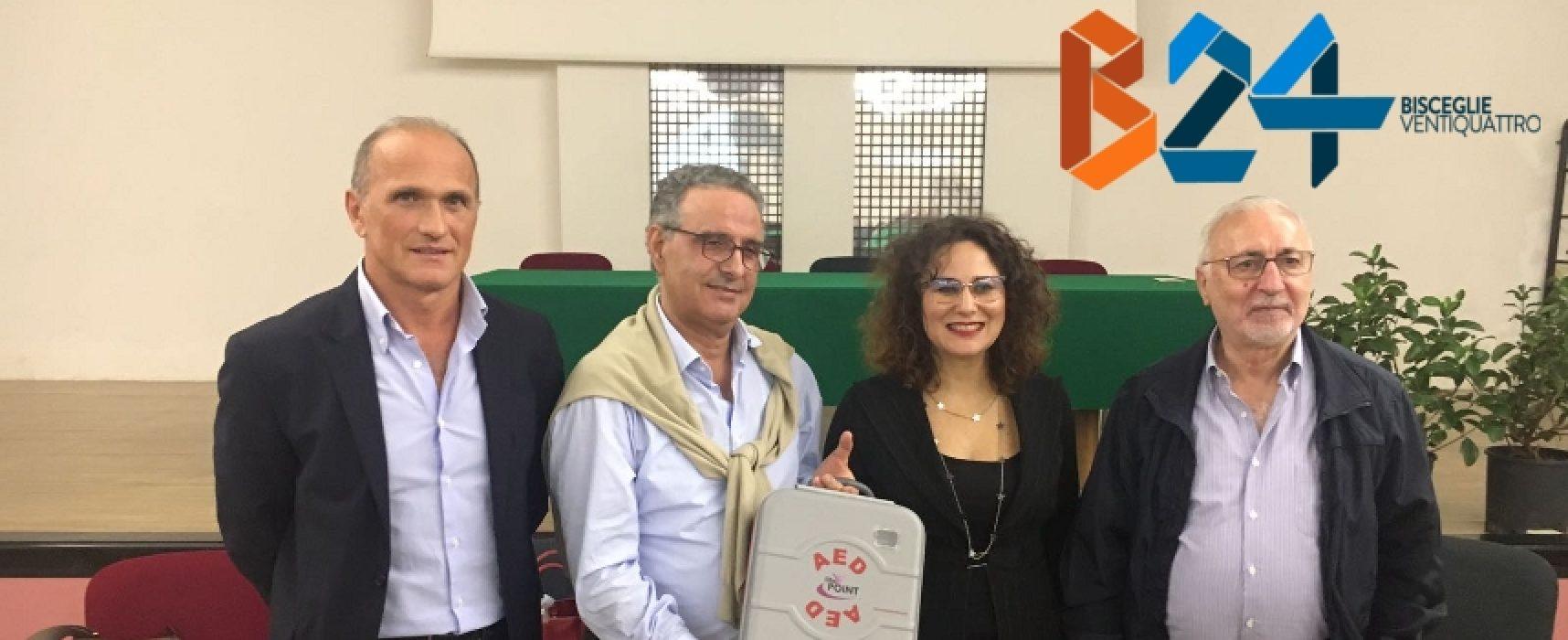 """Movimento 5 Stelle, consegnato defibrillatore al poliambulatorio """"Buon Samaritano"""""""