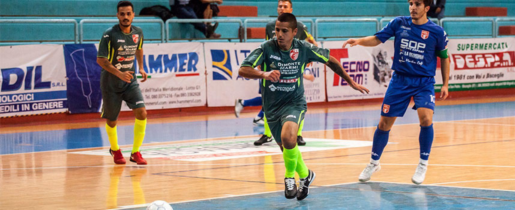 Futsal Bisceglie e Diaz eliminati dalla Coppa della Divisione