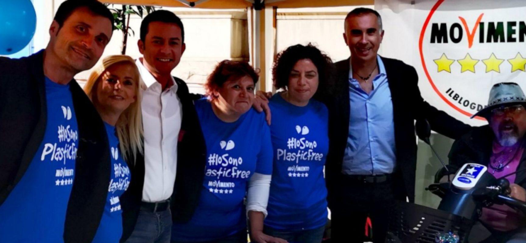 """""""Plastic Free"""", Meetup Bisceglie 5 stelle raccoglie firme per sostenere progetto"""