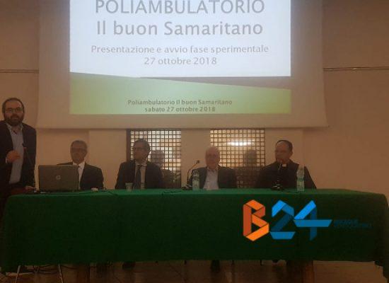 """Al via la fase sperimentale del poliambulatorio """"Il buon Samaritano"""" / VIDEO"""